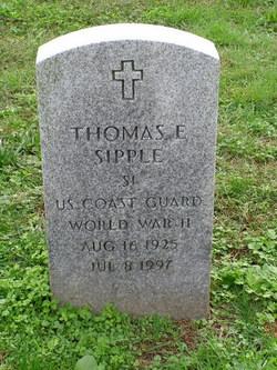 Thomas E Sipple