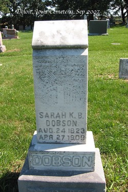Sarah Kendrick Best <I>Taylor</I> Dobson