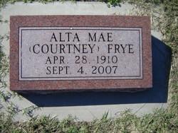 Alta Mae <I>Courtney</I> Frye