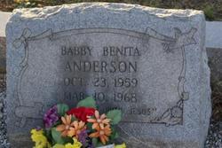 Babby Benita Anderson