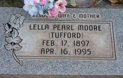 Lella Pearl <I>Tufford</I> Moore