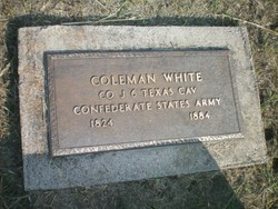 Pvt Coleman White