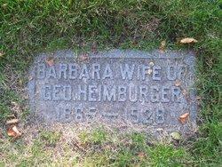 Barbara <I>Kral</I> Heimburger