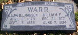 William Frederick Warr