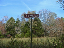 Old Pace Cemetery