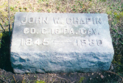 John William Chapin