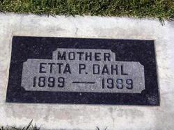 Etta May <I>Paice</I> Dahl