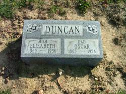 Elizabeth Ann <I>Walters</I> Duncan
