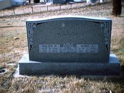 Walter H Japp, Sr