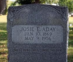 """Josephine Elizabeth """"Josie"""" <I>West</I> Aday"""