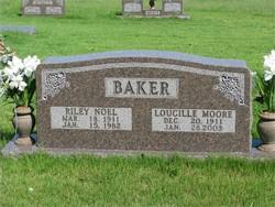 Loucille <I>Moore</I> Baker
