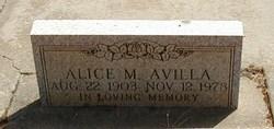 Alice M. Avilla