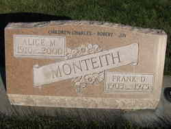 Frank D Monteith