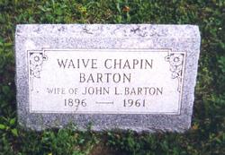 Viva Waive <I>Chapin</I> Barton