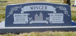Jeri <I>Jacobson</I> Winger