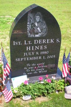 Lieut Derek S Hines
