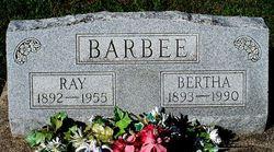 Bertha Rae <I>Hord</I> Barbee