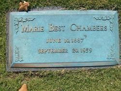 Marie <I>Best</I> Chambers