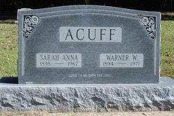 Warner Wesley Acuff