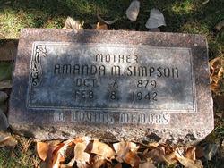 Amanda Mae <I>Durbin</I> Simpson