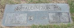 Retta Alma <I>Kirkwood</I> Addington