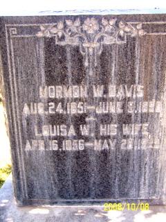 Louisa <I>Walters</I> Davis