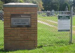 Irish Grove Cemetery