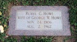 Rubye Caroline <I>Ahlberg</I> Howe