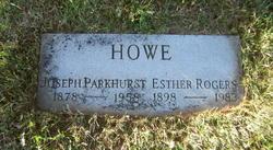 Esther <I>Rogers</I> Howe