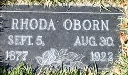 Rhoda <I>Bushman</I> Oborn