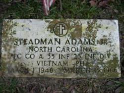 PFC Steadmon Jim Adams, Jr