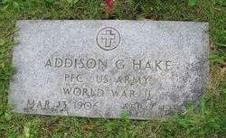 Addison G Hake