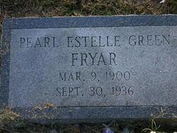 Pearl Estelle <I>Green</I> Fryar
