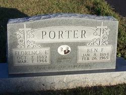 Florence Elizabeth <I>Tibbett</I> Porter
