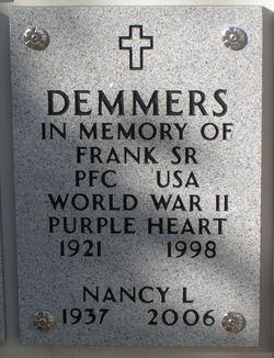 Frank Demmers, Sr