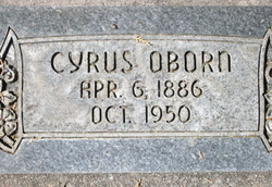 Cyrus Oborn