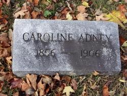 Caroline <I>Lindley</I> Adney