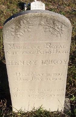 Henry Douglas McKoy