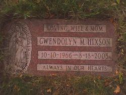 Gwendolyn M <I>Miller</I> Hixson