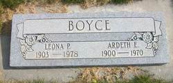 Rhoda Leona <I>Price</I> Boyce