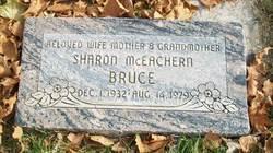 Sharon <I>McEachern</I> Bruce