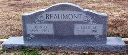 Lillie Mae <I>Person</I> Beaumont