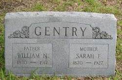 "Sarah Frances ""Babe"" <I>Finegan</I> Gentry"