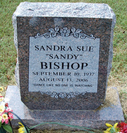 Sandra Sue <I>Bowling</I> Bishop
