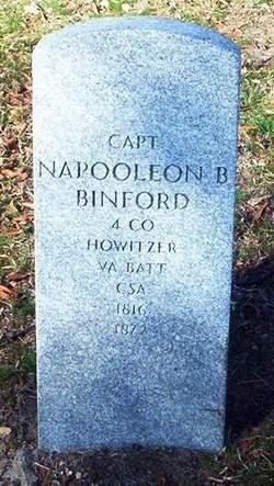 Capt Napoleon Bonaparte Binford