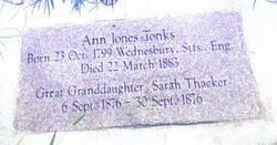 Ann <I>Jones</I> Tonks
