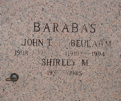 John Theodore Barabas