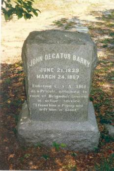 John Decatur Barry