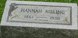 Hannah <I>Koons</I> Kisling