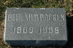 Beulah B. <I>Rowe</I> Bogren